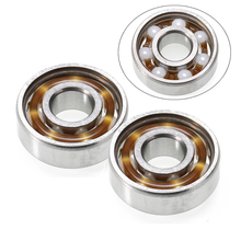 1pc 608 Ball Bearing 8*22*7mm High Precision Hand Fidget Spinner Ceramic Speed Ball Bearings ZrO2 Zirconia Mayitr 1pcs 50tac100b 50 tac 100b suc10pn7b 50x100x20 mochu high speed high load capacity ball screw support bearings