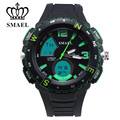 2017 SMEAL Carefully Build Mode Fashional Man Watch Sport Style Essential Trendsetter Best Men Gift For Boy Friend  1367