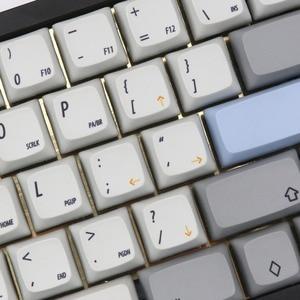 Image 4 - Kbdfans במלאי R1 XDA צבע תת 60% 65% Keycaps
