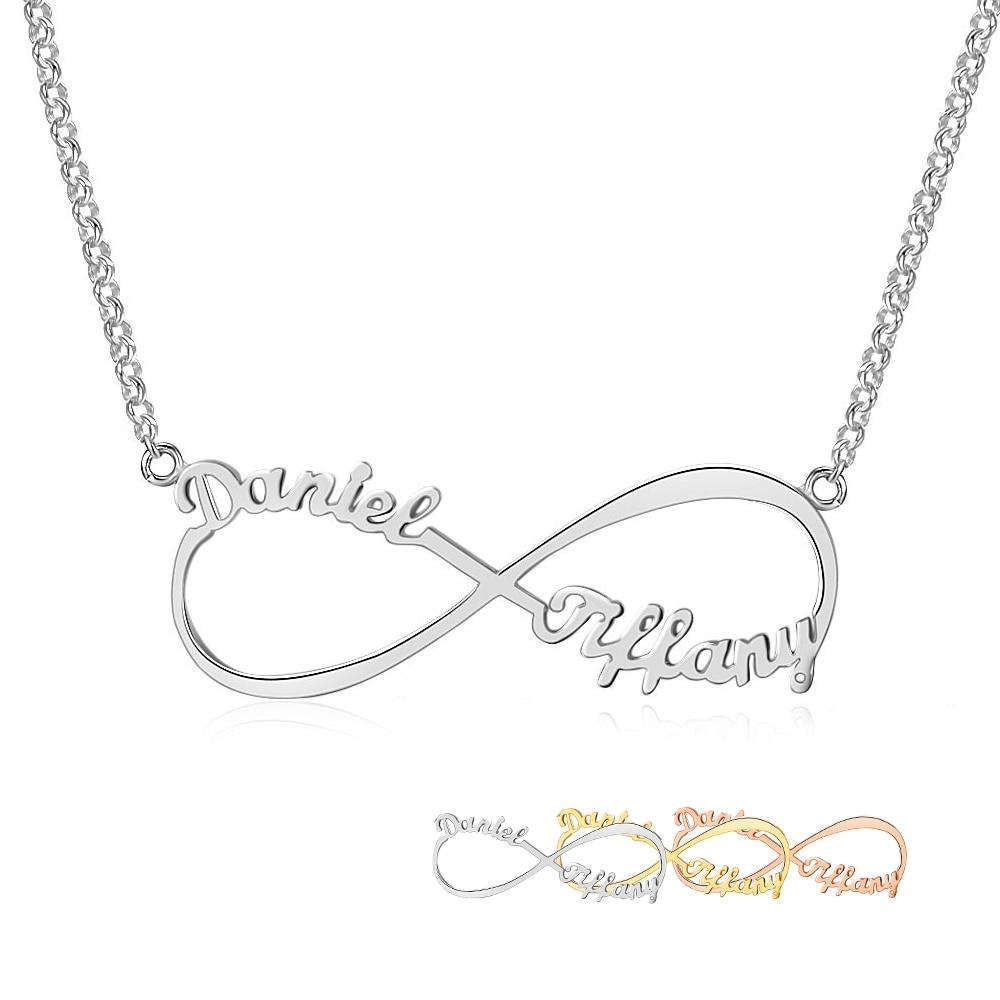 Personlig arabisk russisk navn halskæde sølv 925 vedhæng halskæde - Smykker - Foto 1