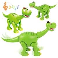 Новое звучание мигает электронные мигает динозавра Юрского периода Прохладный Животные игрушки прекрасный Рождественский игрушки для под...