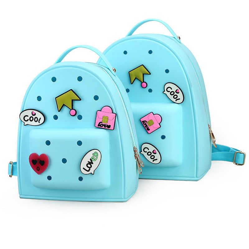 Sacos de escola doces cor dos desenhos animados mochilas crianças mochila escolar infantil mochilas para crianças