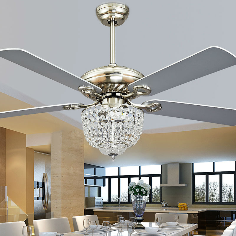 Fashion Vintage Ceiling Fan Lights Funky Style Lamps Bedroom Dinning Room Living Lighting 7060 W In Fans From On