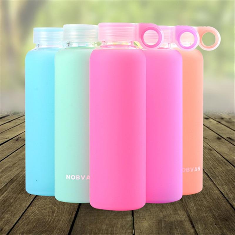 Glass Sport Drinking Bottles