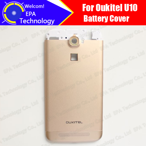 Oukitel U10 Battery Cover 100% Original New Durable Back Case Mobile Phone Accessory for Oukitel U10 mobile phone