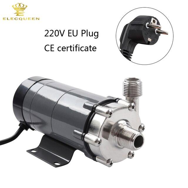 Magnetische Pomp 15R Met Rvs Hoofd, Bier Brouwen 220 V Europese Plug met 1/2 npt