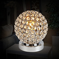 Modern Chrome Crystal Bedside Table Lamp Bedroom Light Table Lamp novelty lighting fixtures for bedroom study room