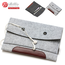 High quality Wool Felt bags For Apple iPad Pro 9.7″ Tablet Case Sleeve For Pro 9.7 inch Anti-scratch Shockproof  Wholesales