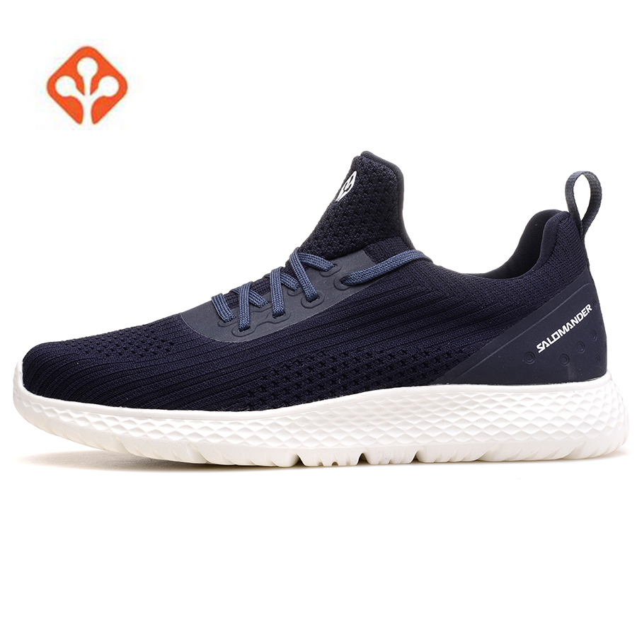 2018 SALAMANDER Mens Sports Running Sneakers Shoes For Men Sport Mesh Outdoor Running Jogging Shoes Sneakers Man Chaussure Homme onemix breathable mesh women sport sneakers chaussure running homme men jogging shoes comfortable men shoes sales size us 6 5 12