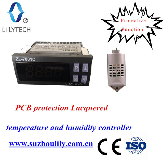 ZL-7801C,100-240VAC,Temperature Humidity controller for incubator,Automatic incubator,Incubator Controller,Lilytech