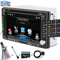 2 DIN Car DVD/GPS/CD/MP3/mp5/usb/sd/reproductor de Manos Libres Bluetooth Retrovisor después de la pantalla Táctil de hd sistema de Envío gratis