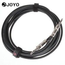 JOYO CM-03 15 Füße Gitarre Bass Kabel 6,3mm bis 6,3mm Stecker Geschirmt Stereo Instrumentenkabel Gitarre Teile zubehör