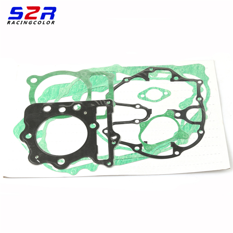 S2R Motorcycle Overhaul Pad for Honda CB400 Falcon NX400 NX4 <font><b>NX</b></font> XR <font><b>400</b></font> Complete Engine Cylinder Over Overhaul Pad Gasket Set image