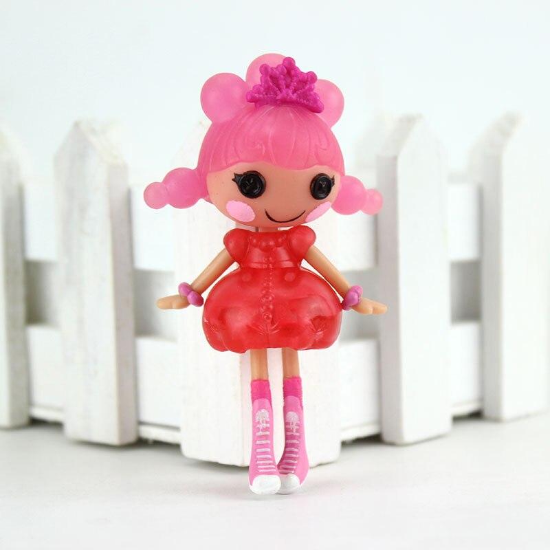 1pcs 3 Pollici Originale MGA Lalaloopsy Bambole Mini Bambole di trasporto libero Per Il Bambino del Giocattolo della Casa del Gioco Ogni Unico