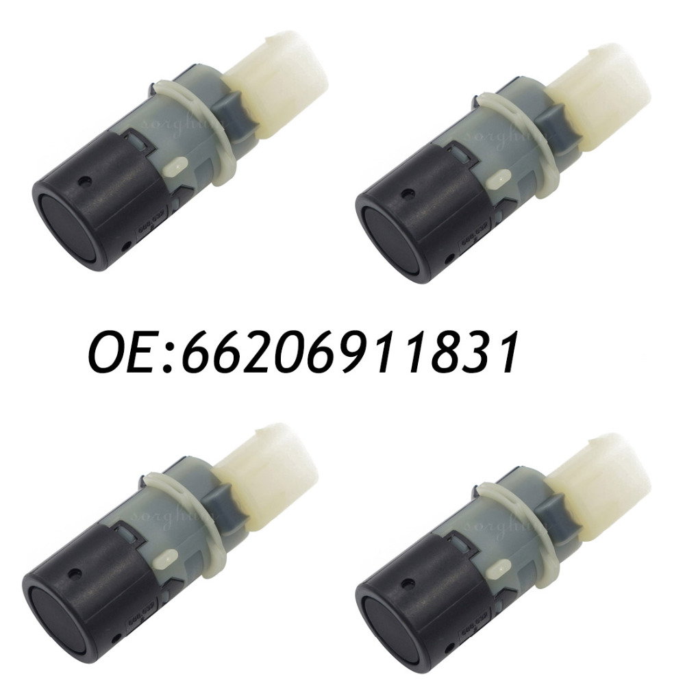 4PCS 66206911831 6911831 Parking Sensor PDC Fit BMW E46 66206989067 69899069 66216938737 66202184368 66200143461 66206989069 4pcs pdc new brand parking sensor 25994 cm10d ultrasonic fit nissan infiniti g20 fx50