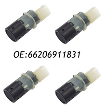 4PCS 66206911831 6911831 Parking Sensor PDC Fit BMW E46 66206989067 69899069  66216938737 66202184368 66200143461 66206989069