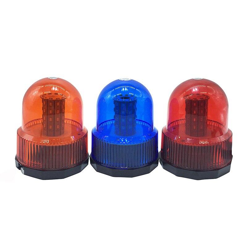 40 LED DC12V Red Yellow Blue car Vehicle Police LED Strobe rotating flashing Warning light Emergency Beacon lamp