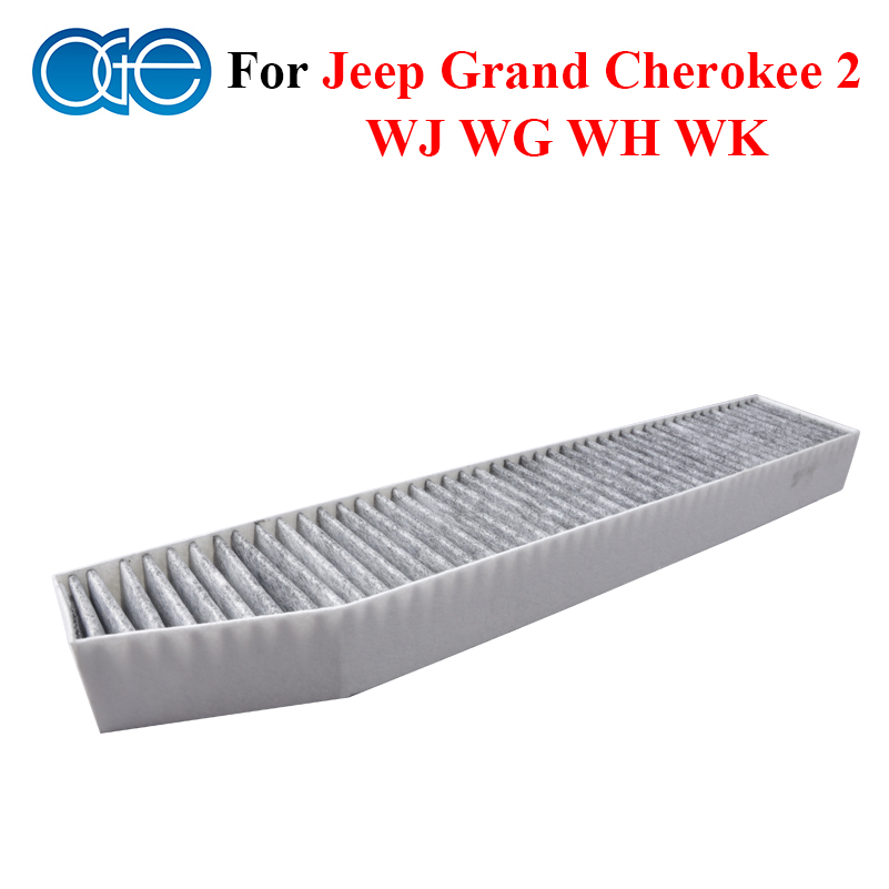 car parts carbon cabin filter for jeep grand cherokee 2 wj. Black Bedroom Furniture Sets. Home Design Ideas
