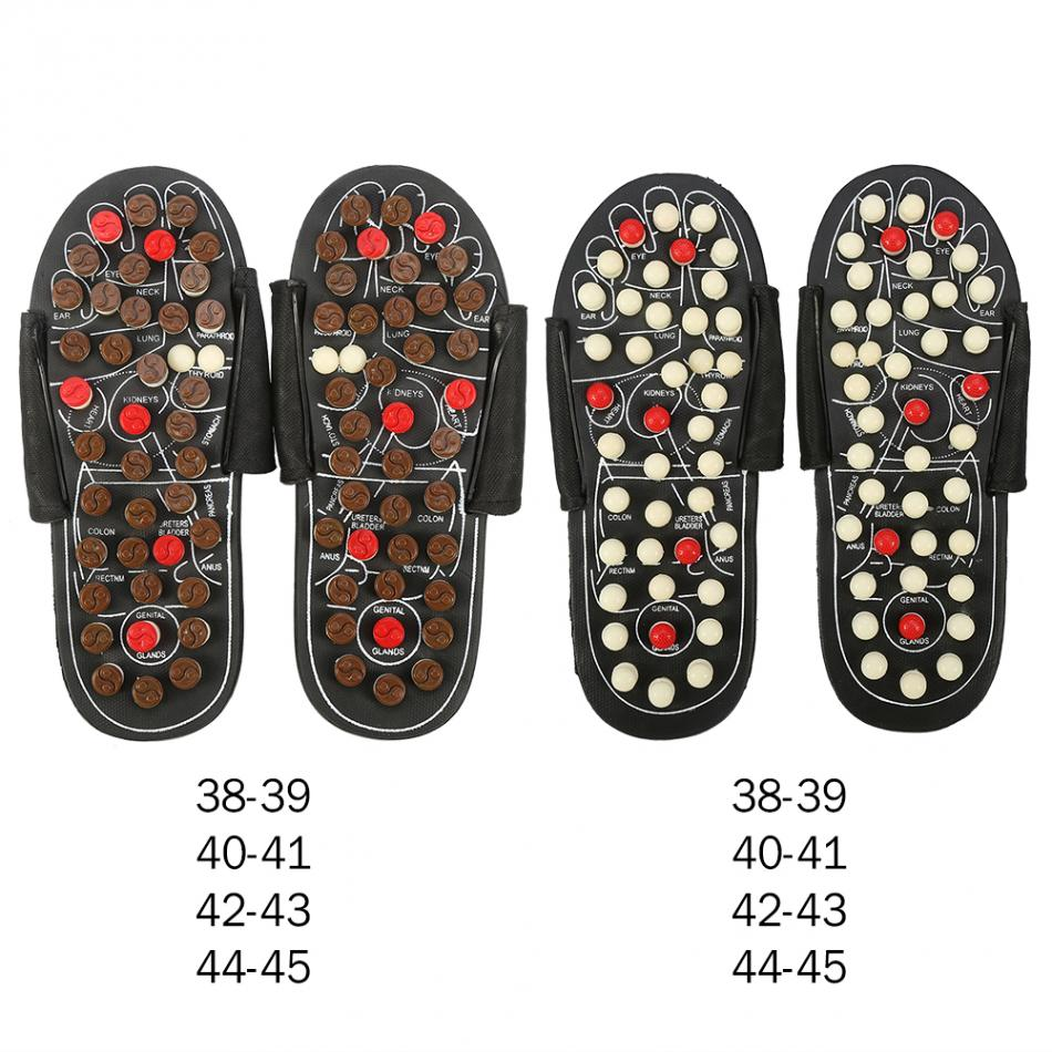 Foot Massage Slippers Acupuncture Therapy Massager Shoes For legs Acupoint Activating Reflexology Feet Care massageador Sandal