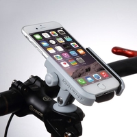 BuzzLee Universal Bicycle Screw Fixed Aluminum Alloy Phone Holder Stand Mount 360 Rotation Bike Clip for iPhone Xs Max XR X GPS
