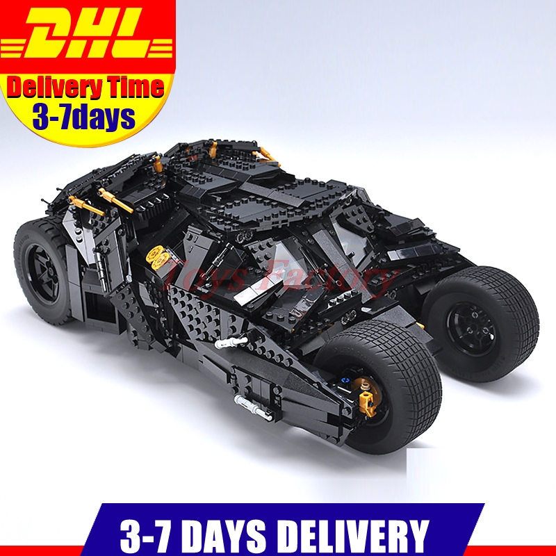 LEPIN 07060 Genuine Super Hero Movie Series The Batman Armored Chariot Set 76023 Educational Building Block Brick Boy Toys 7111 lepin 16018 genuine the lord of rings series the ghost pirate ship set building block brick funny toys 79008