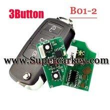 Envío gratis (1 unids) B01-2 3 Estilo de Botón Remoto Para VW KD900 (KD300) Máquina