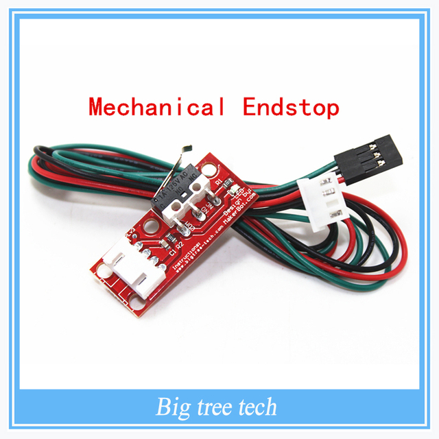 10PCS 3D Prnter parts Mechanical Endstop without the wheel For Reprap ramps 1.4 3D printer With independent packing