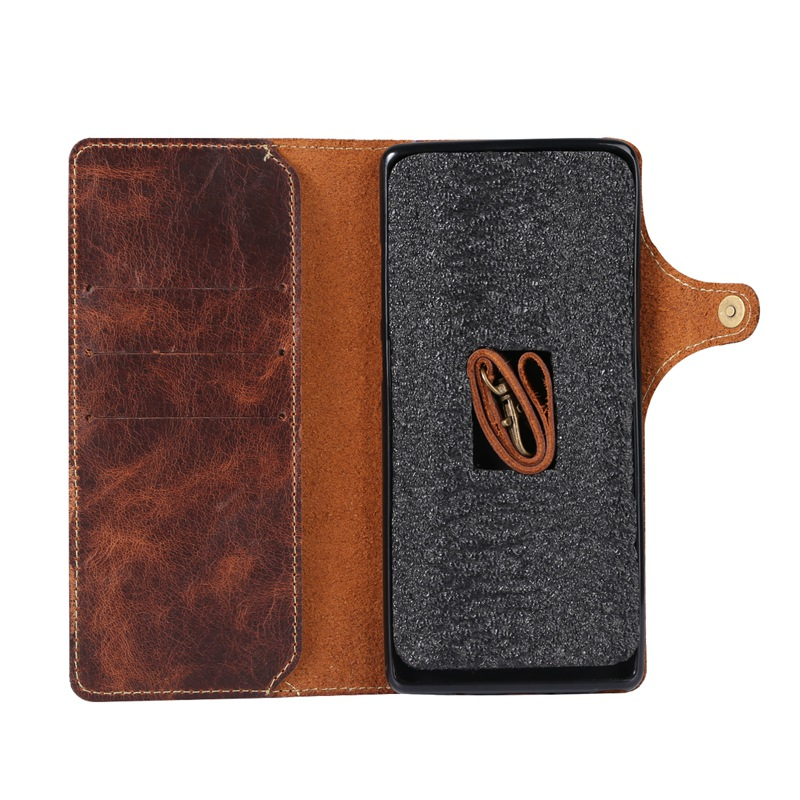 Genuine Leather Phone Case Cover for Samsung S10