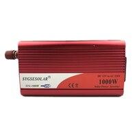 DC 12V to AC 220V 230V 240V 1000 W Converter 12V Power Inverter with dual USB port