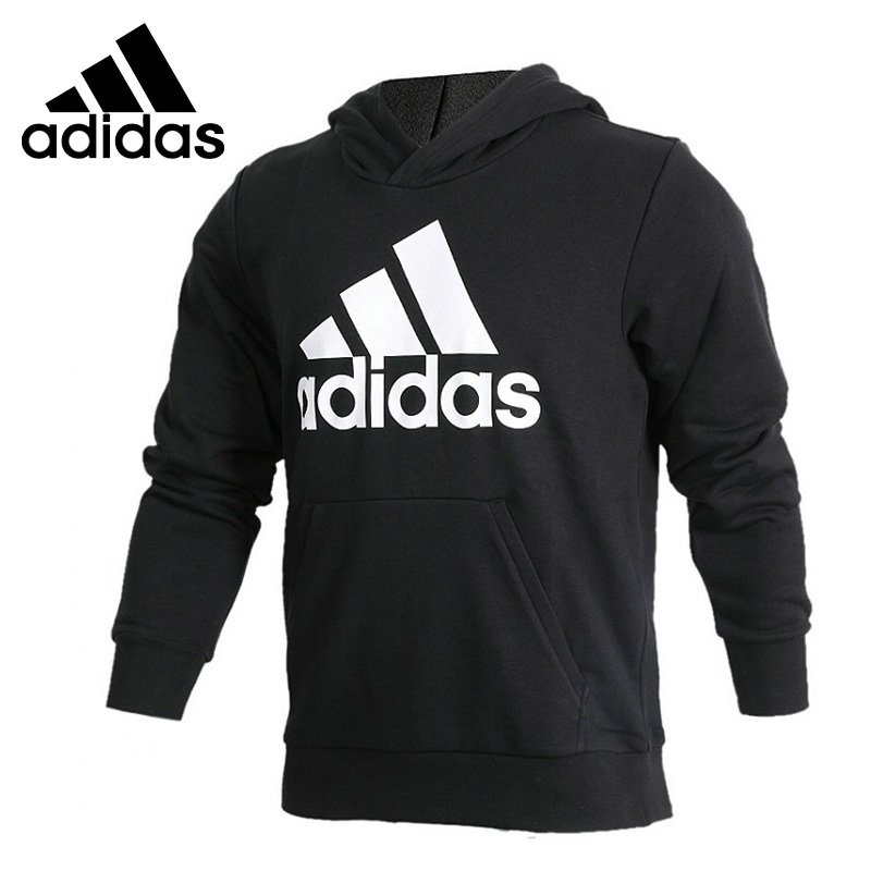 Original New Arrival 2018 Adidas ESS LIN P/O FT Men's Pullover Hoodies Sportswear adidas new arrival official ess 3s crew men s jacket breathable pullover sportswear bq9645