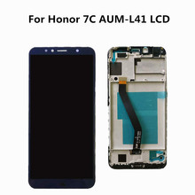 Original 5.7 inch for Huawei Honor 7C aum-L41 Aum-L41 LCD Di