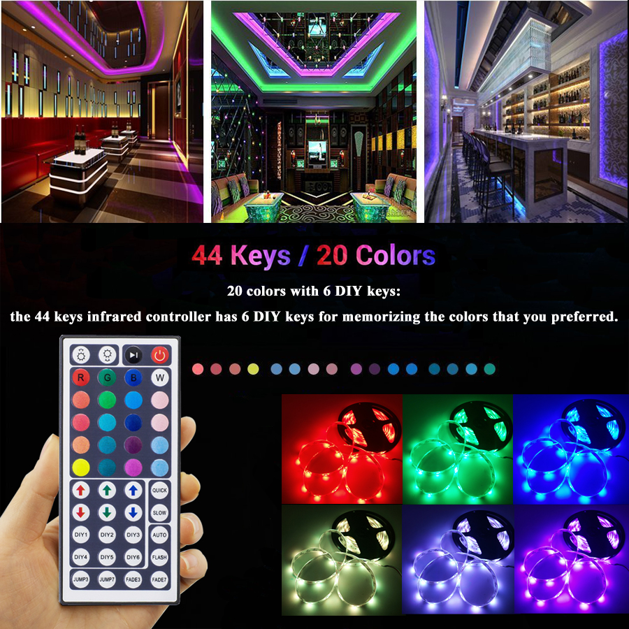 Tiras de Led hbl 5 m 10 m Led Strip Light : Flexible