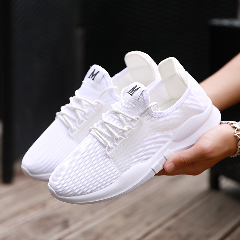 2020 Hot New Sports Running Shoes Men And Women Couple Shoes Breathable Comfortable Non-slip Sneakers Air Cushion Casual Shoes