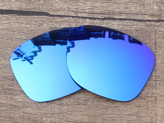 Polycarbonate-Ice Blue Mirror Replacement Lenses For Catalyst Sunglasses Frame 100% UVA & UVB Protection