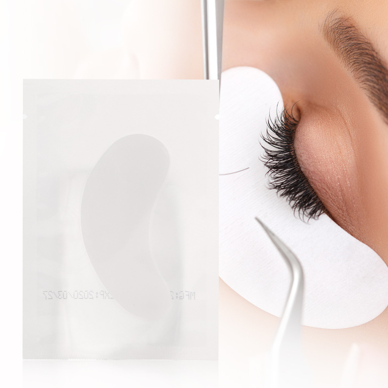 25 pairs Eyelash Extensions Paper Patches Grafted Eye Stickers Eyelashes Under Eye Pads Eye Hydrogel Patches Makeup Tools in False Eyelashes from Beauty Health