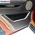 Para Land Rover Range Rover Evoque 2013-2017 Styling ABS Cromado Porta Do Carro Decoração Guarnição Tiras Acessórios 4 pçs/set