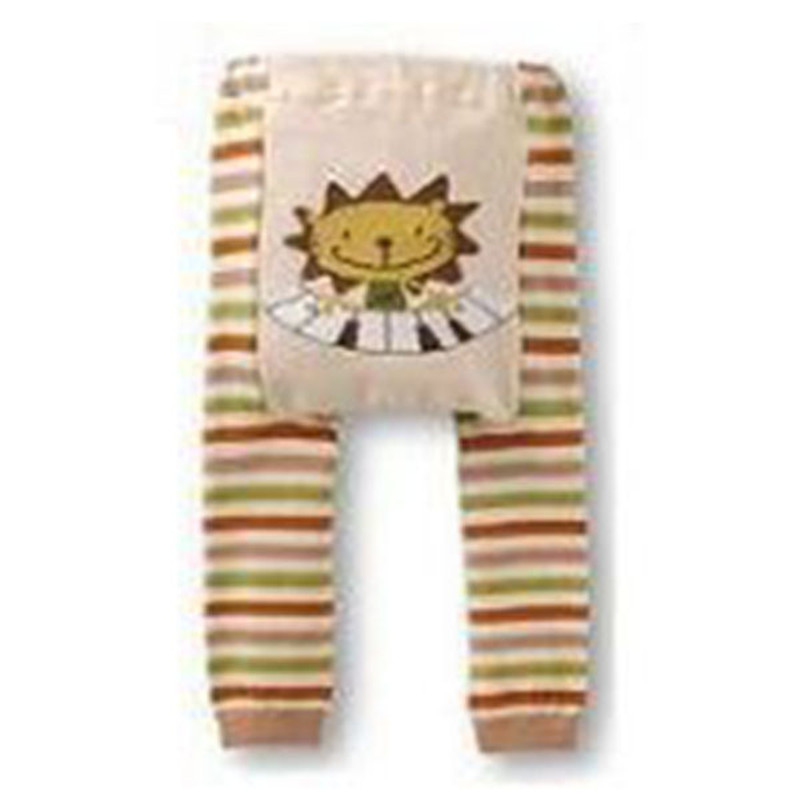 New Children Soft Cotton Multi Color Striped Character Style Love Heart Baby Toddler Long Pants Born