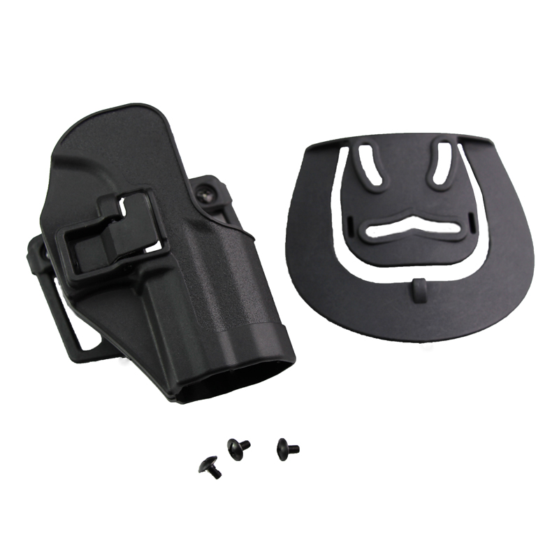 Airsoft Hunting Gun Holster Blackhawk CQC style Tactical holster for USP RH Pistol Paddle Belt Holster