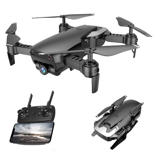 Global Drone FPV Drones with Camera HD Altitude Hold Quadrocopter RTF RC...