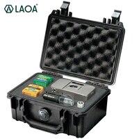 LAOA seguridad instrumento herramienta de almacenamiento de caja de herramientas a prueba de agua IP67 caja de instrumento y equipar Instore con Draw-Bar con espuma en el interior