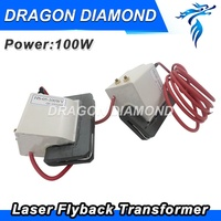 Original High Voltage Flyback Transformer 100W Reci DY13 interchangeable For Co2 Laser Power Supply