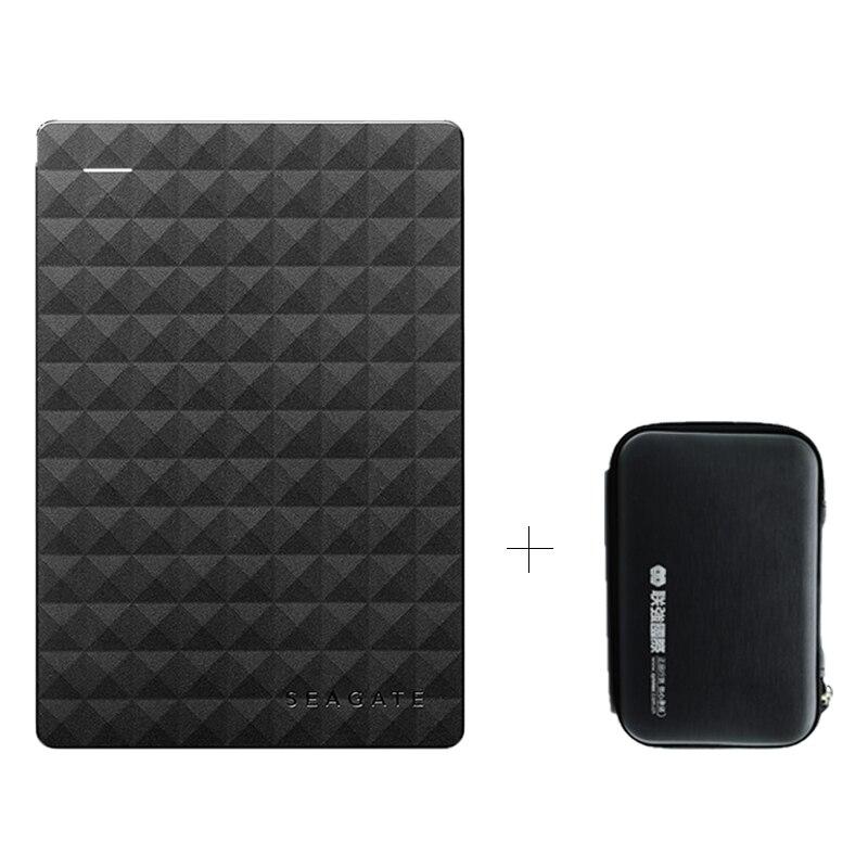 Seagate расширения 500 ГБ 1 ТБ 2 ТБ 4 ТБ Портативный внешний жесткий диск USB 3,0 HDD 2,5 для рабочего ноутбука (включая HD мешок)