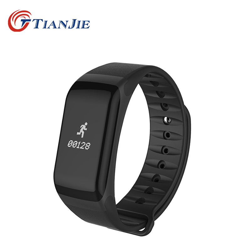 TIANJIE F1 Fashion Heart Rate Monitor blood pressure waterproof heart rate smart bracelet watch wrist band for huawei iphone цена 2017
