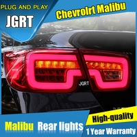 JGRT Car Styling For Chevrolet Malibu Tail Lights 2011 2014 For Malibu LED Tail Lamp Turn