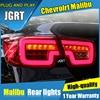 JGRT Car Styling For Chevrolet Malibu Tail Lights 2011 2014 For Malibu LED Tail Lamp Turn