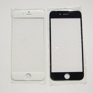 Image 2 - Przednia zewnętrzna wymienna soczewka szklana części do iPhone 7 5 5S 4 4S 6 6S Plus naprawa ekranu dotykowego