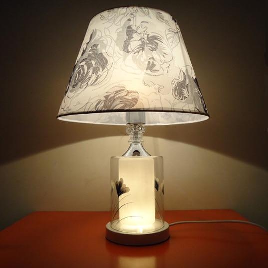 Breve moda moderna l mpara de mesa de estudio l mpara de for Lampara de noche castorama
