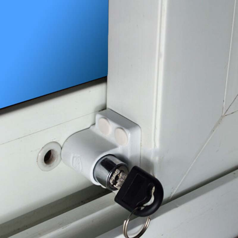 Shield Sliding Window Locks Aluminum Steel Window Locks Security