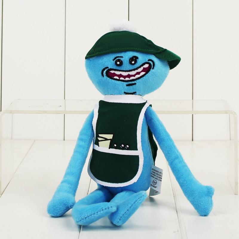 Рик и Морти плюшевые игрушки Sanchez Smith Mr Meeseeks Jerry Summer poopybuttole счастливый сад учёный мягкие куклы - Цвет: C
