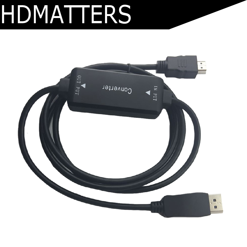 Active Displayport dp female to HDMI female converter adapter cable HDMI in Displayport out adapter game monster hunter gk white model 1 6 gk resin model doll action figure collection model toys